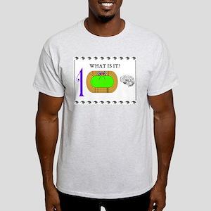 ONE TRACK MIND Ash Grey T-Shirt