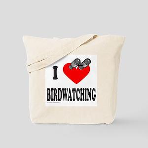 I HEART BIRDWATCHING Tote Bag