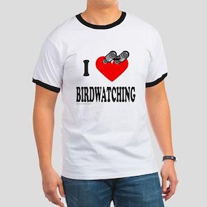I HEART BIRDWATCHING Ringer T