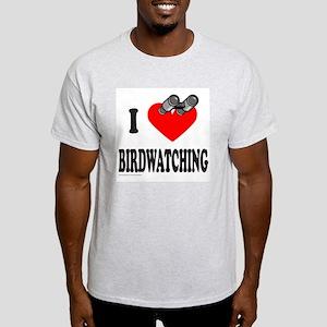 I HEART BIRDWATCHING Light T-Shirt