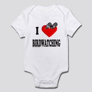 I HEART BIRDWATCHING Infant Bodysuit