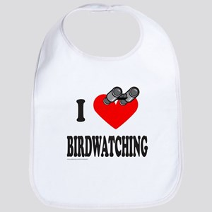 I HEART BIRDWATCHING Bib