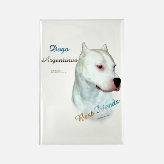 Dogo Best Friend 1 Rectangle Magnet