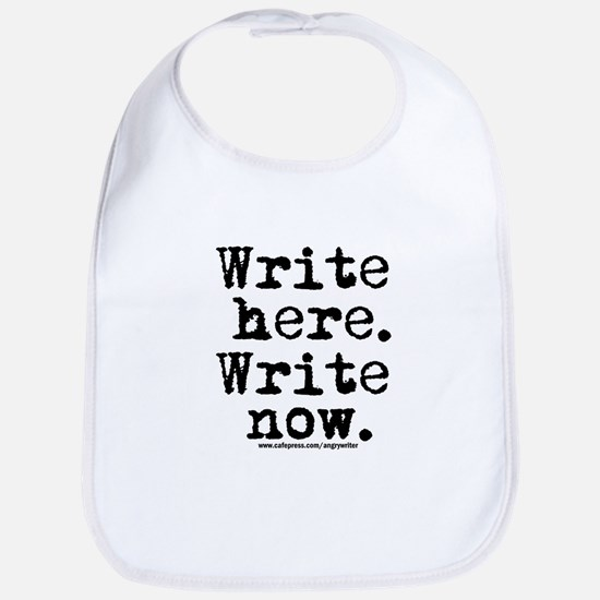 Write Here Bib