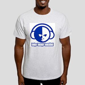 Hip Hop Head Ash Grey T-Shirt