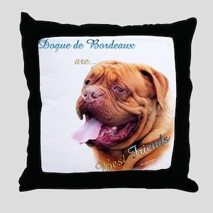 Dogue Best Friend 1 Throw Pillow