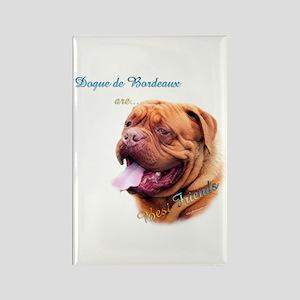 Dogue Best Friend 1 Rectangle Magnet