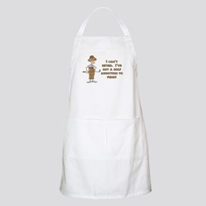 Can't Retire, Must Golf BBQ Apron