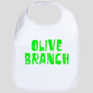 Olive Branch Faded (Green) Bib