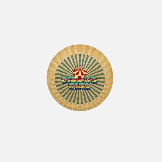 CPM Carnival Girl Mini Button