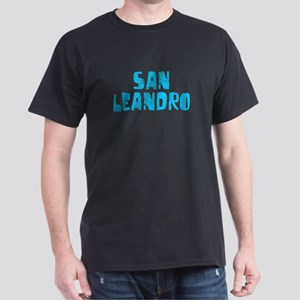 San Leandro Faded (Blue) Dark T-Shirt