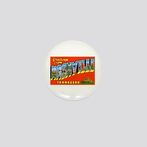 Nashville Tennessee Greetings Mini Button