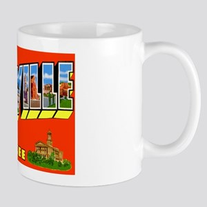 Nashville Tennessee Greetings Mug