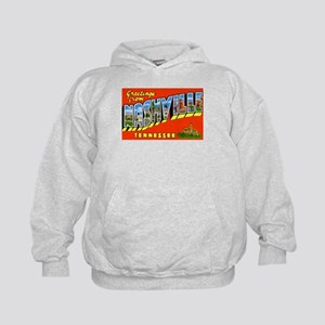 Nashville Tennessee Greetings (Front) Kids Hoodie