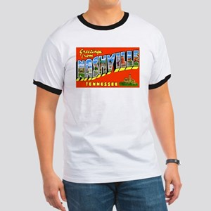 Nashville Tennessee Greetings (Front) Ringer T