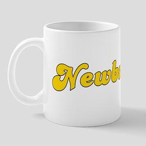 Retro Newburyport (Gold) Mug
