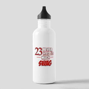 23 birthday design Stainless Water Bottle 1.0L