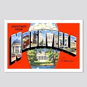 Nashville Tennessee Greetings Postcards (Package o