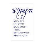 WL Rectangle Sticker