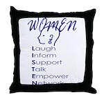 WL Throw Pillow