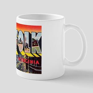 Norfolk Virginia Greetings Mug