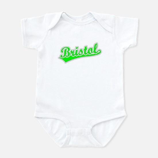 Retro Bristol (Green) Infant Bodysuit