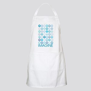 Imagine Peace Signs Apron