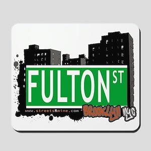 FULTON ST, BROOKLYN, NYC Mousepad
