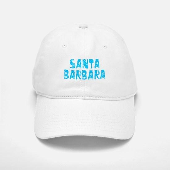 Santa Barbara Faded (Blue) Baseball Baseball Cap