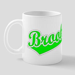 Retro Brookings (Green) Mug