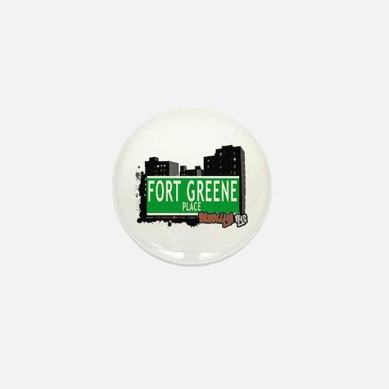 FORT GREENE PLACE, BROOKLYN, NYC Mini Button