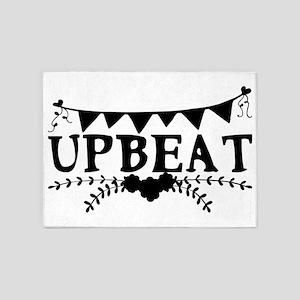 upbeat 5'x7'Area Rug