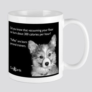 Corgi Trainer Large Mugs