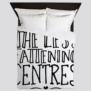 America with the Less Fattening Centre Queen Duvet