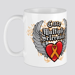 MS Heart and WIngs Mug