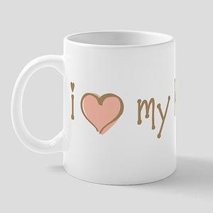 I Love Heart My Kids Mug