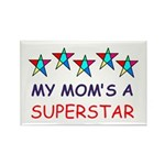 SUPERSTAR MOM Rectangle Magnet (100 pack)