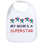 SUPERSTAR MOM Bib