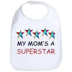SUPERSTAR MOM Bib