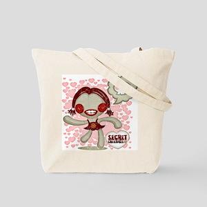 Spooky Doll Tote Bag
