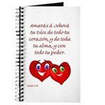 Spanish Dt 6.5 Hearts Journal