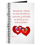 Spanish Dt 6.5 Hearts Journal