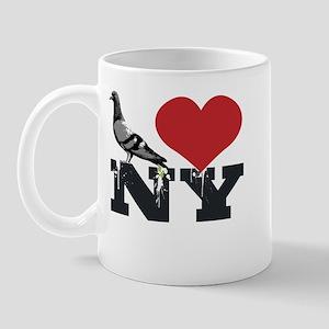 NY Pigeon Mug