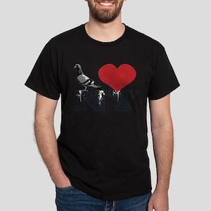 NY Pigeon Dark T-Shirt