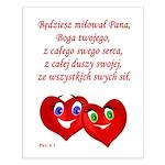 Polish Heartsfor God Small Poster
