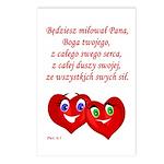 Polish Heartsfor God Postcards (Package of 8)