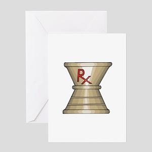 Pharmacy Trophy Greeting Card