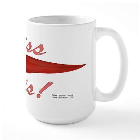 Kiss This! Large Mug