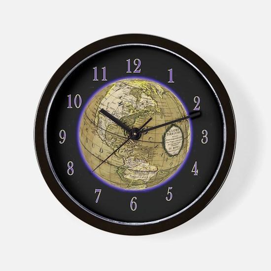 Glowing Globe Clock