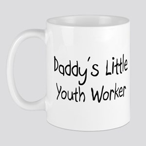 Daddy's Little Youth Worker Mug